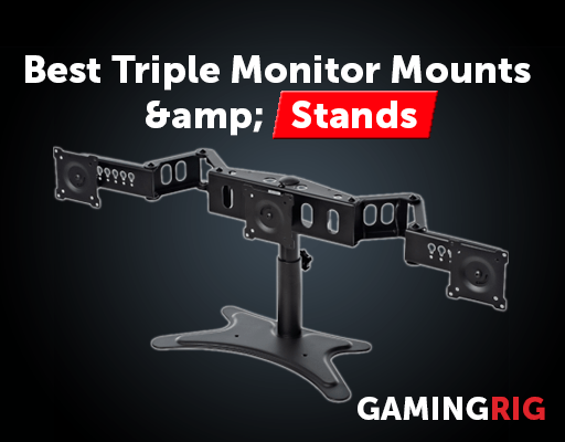 Best Triple Monitor Stand for Incl 24″ 27″ Screens – 2019 Review