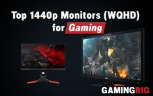 best 1440p monitors for gaming