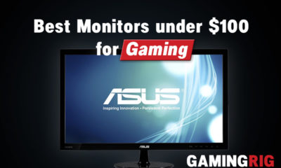 best gaming monitors under $100