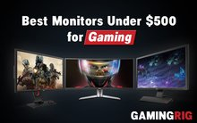 best gaming monitors under 500